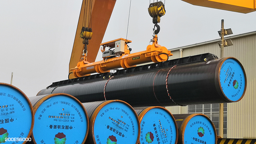Vacuum pipe lifter Aerolift