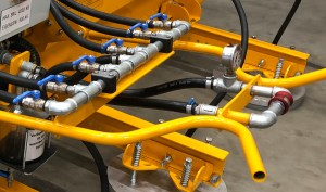 Lifting machine Aerolift for steel supplier