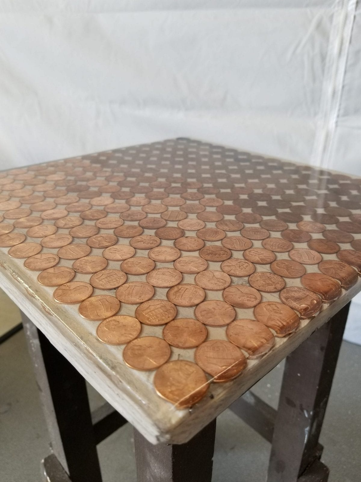Penny Tabletop With Epoxy Aeromarine Products Inc
