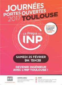 Journée Portes Ouvertes INP Toulouse @ INP Toulouse | Toulouse | Occitanie | France