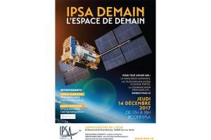 Conférence « L'espace de demain » @ IPSA Paris