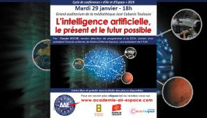 """Conférence """"L'intelligence artificielle, le présent et le futur possible"""" par Claude Roche @ Médiathèque José Cabanis"""
