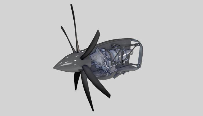 Safran noue un partenariat pour la conception d'un turbopropulseur destiné à un drone européen