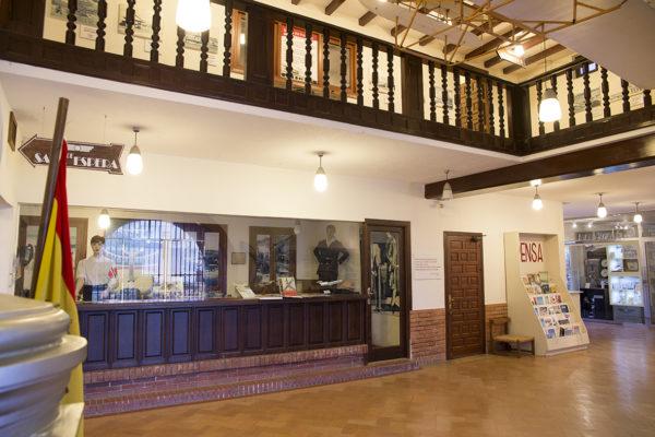 Detalle recepción en interior de Terminal Histórica