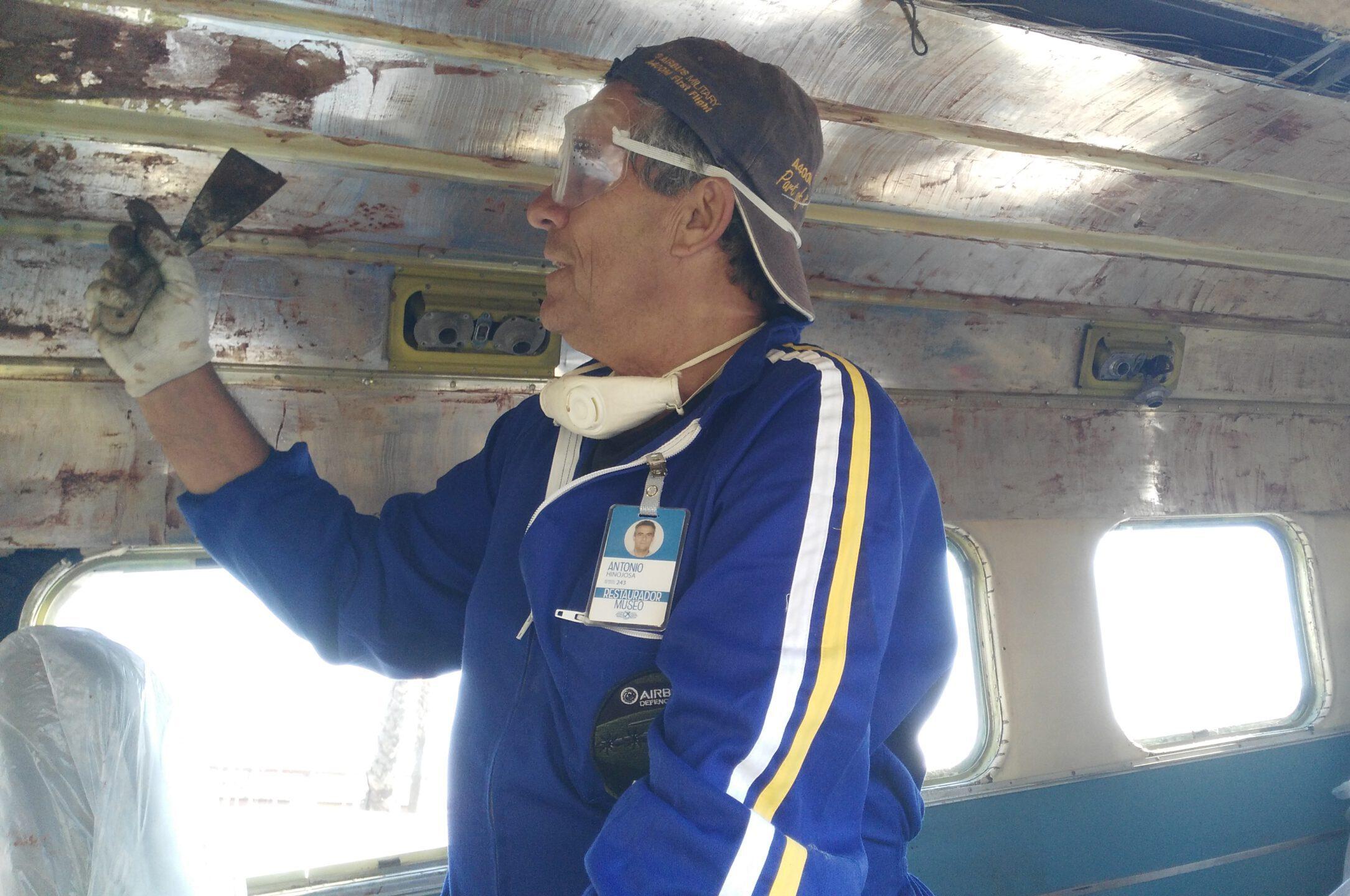 Por un interior de Beech de la Jet Set