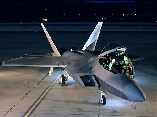 Aeroplans - F-22 Raptor