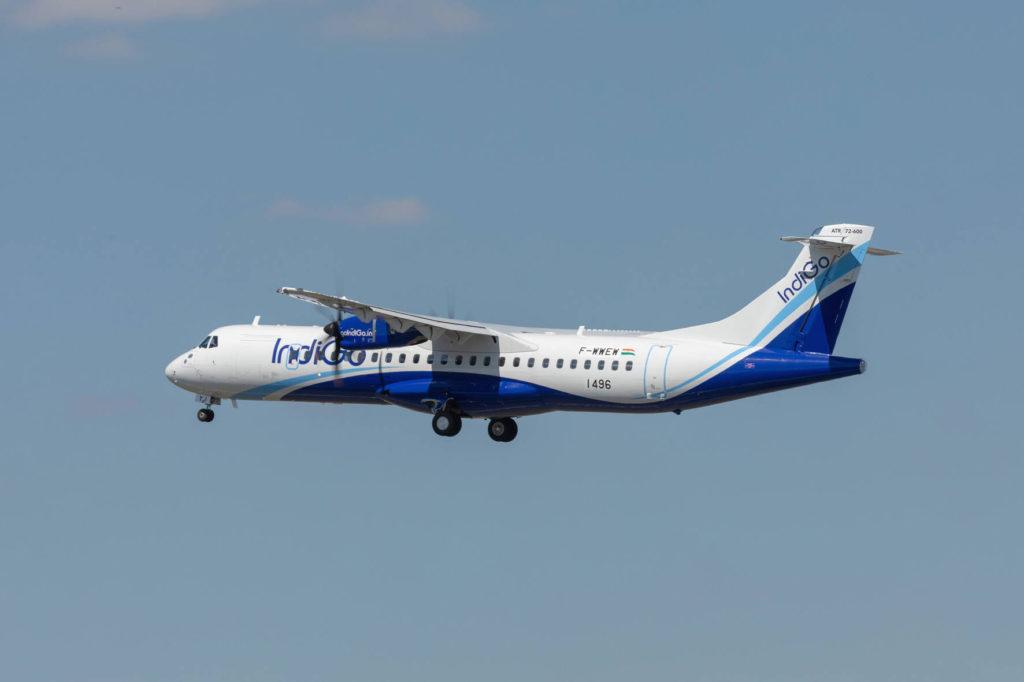 ATR 72 1000 Consegna a IndiGo