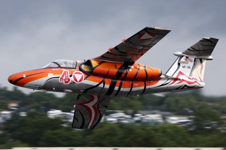 © Ben Montgomery - SAAB 105E • Austrian Air Force • Royal International Air Tattoo 2011