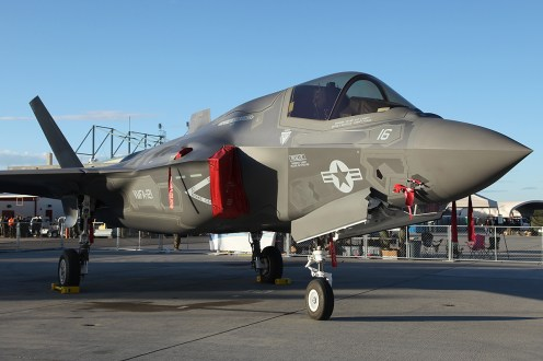 © Mark Forest • Lockheed Martin F-35B • MCAS Yuma