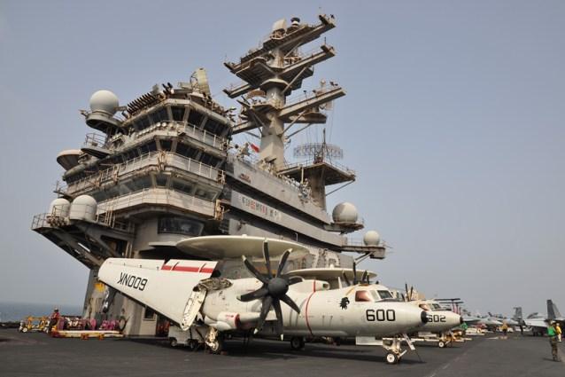 © Duncan Monk - Northrop Grumman E-2D Hawkeye • United States Navy • USS Ronald Reagan CVW-14