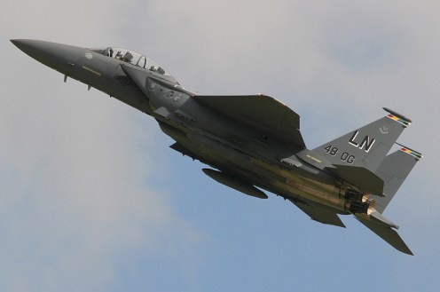 © Michael Freer - Boeing F-15E Strike Eagle • United States Air Force • Royal International Air Tattoo 2007