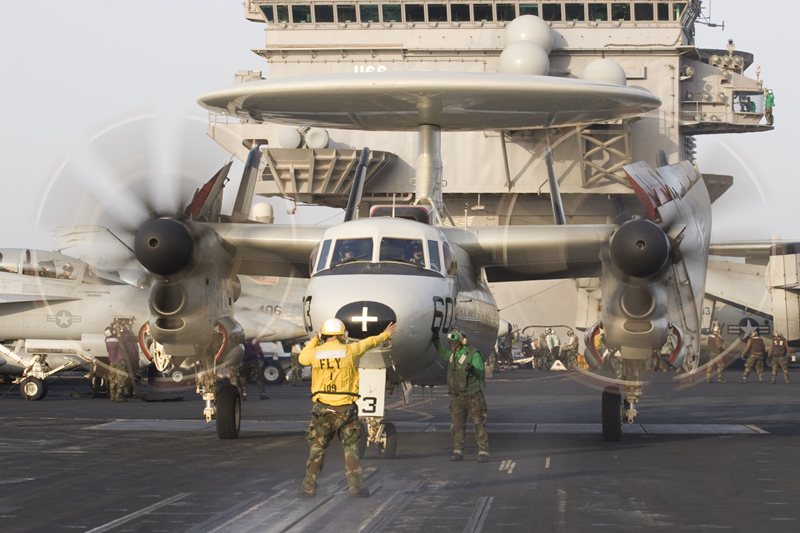 © Anthony Osborne - Northrop Grumman E-2D Hawkeye • United States Navy • USS Enterprise