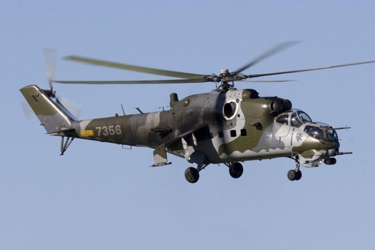 © Anthony Osborne - Mil Mi-24 Hind • Czech Air Force • Tiger Meet 2007