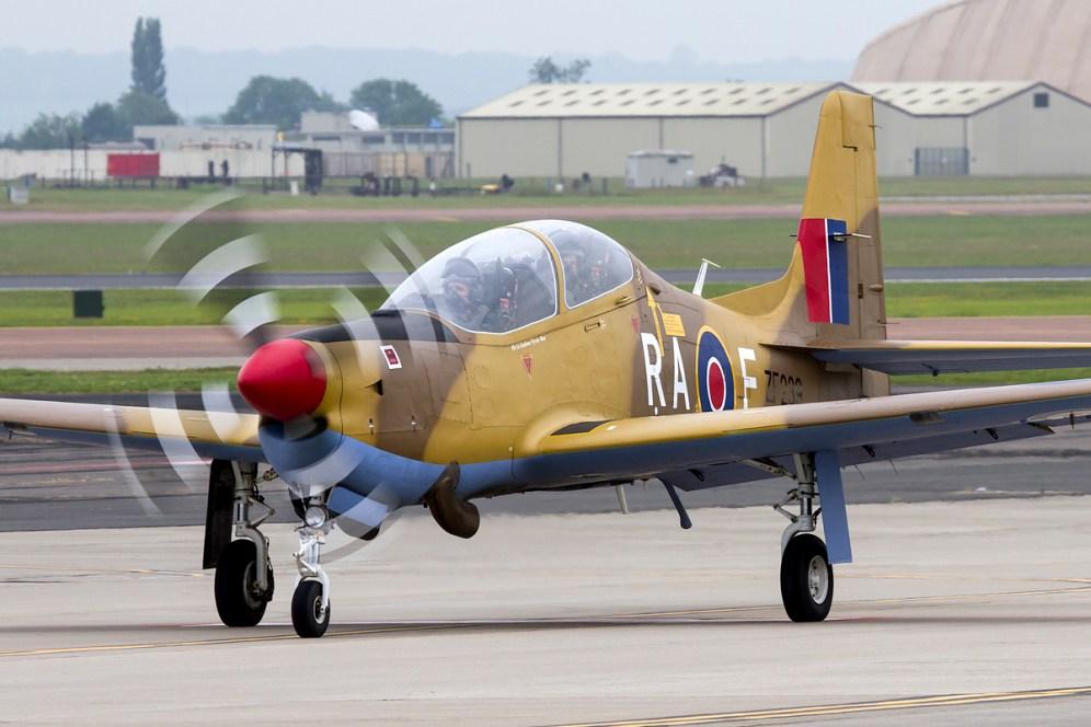 © Adam Duffield • RIAT Media Preview - RAF Fairford, UK • RAF Short Tucano T1