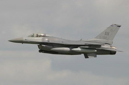 Lockheed Martin F-16CG Fighting Falcon