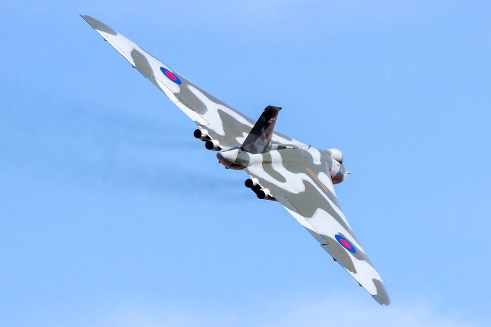 © Adam Duffield • Duxford Air Show 2012 • Duxford Airfield, UK • Avro Vulcan B.2 - XH558