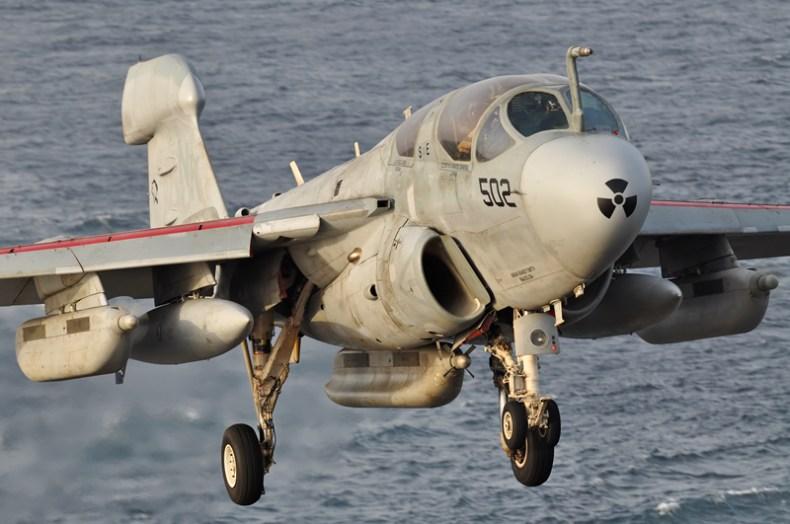 © Duncan Monk - Northrop Grumman EA-6B Prowler • United States Navy • USS Ronald Reagan CVW-14