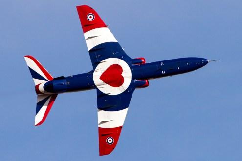 © Adam Duffield • Duxford Air Show 2012 • Duxford Airfield, UK • Hawk T.1A - XX278