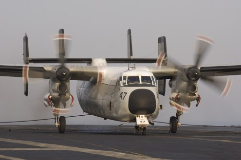 © Anthony Osborne - Grumman C-2A Greyhound • United States Navy • USS Enterprise