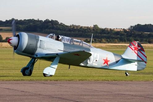 © Adam Duffield • Duxford Air Show 2012 • Duxford Airfield, UK • Yak-11