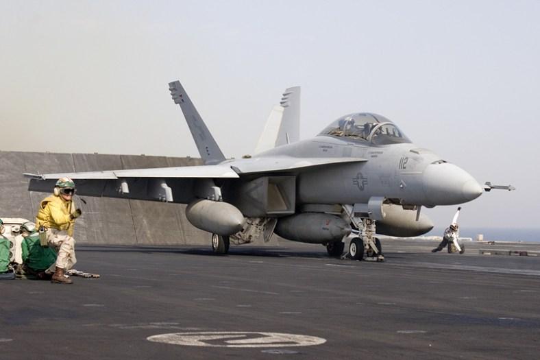 © Anthony Osborne -Boeing F/A-18F Super Hornet • United States Navy • USS Enterprise