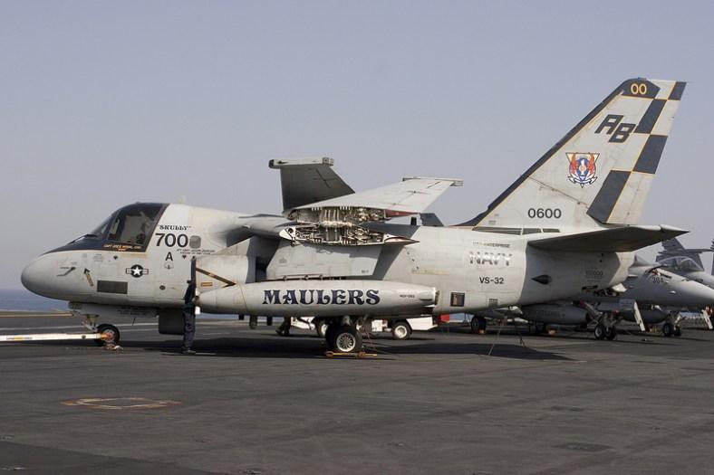 © Anthony Osborne - Lockheed S-3B Viking • United States Navy • USS Enterprise