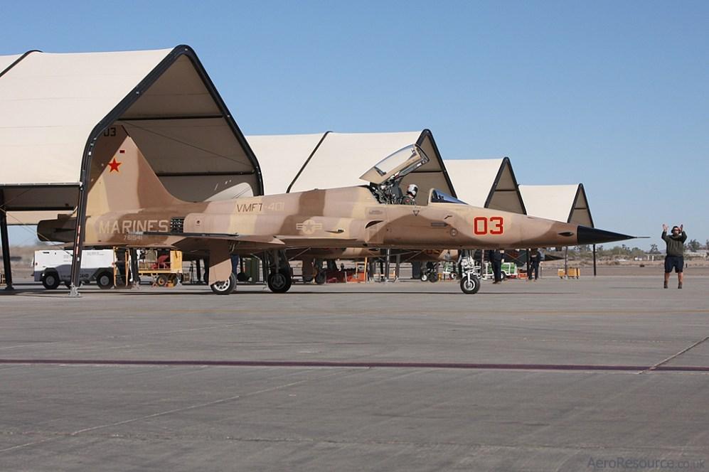 © Jason Grant- United States Marine Corps • F-5 Tiger II • Marine Corps Air Station Yuma, Arizona