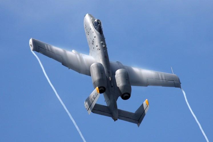 © Ben Montgomery - Fairchild A-10C Thunderbolt II • United States Air Force • Royal International Air Tattoo 2011