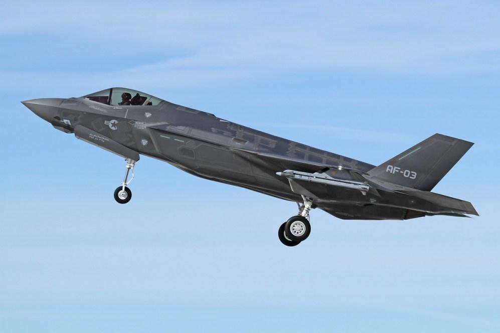 © Jason Grant • Lockheed Martin F-35A • Edwards AFB
