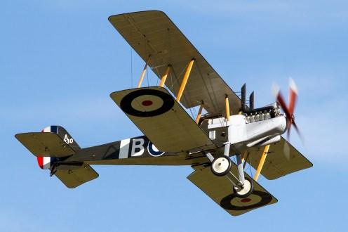 © Adam Duffield • Duxford Air Show 2012 • Duxford Airfield, UK • Royal Aircraft Factor - ZKTVC