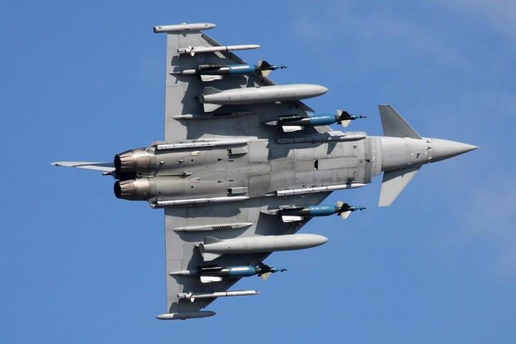 © Ben Montgomery - Eurofighter Typhoon FGR.4 • Royal Air Force • Royal International Air Tattoo 2011