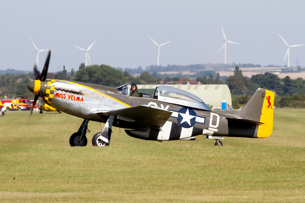 © Adam Duffield • Duxford Air Show 2012 • Duxford Airfield, UK • P-51D - NX251RJ