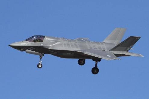 © Mark Forest • Lockheed Martin F-35B Delivery Flight • El-Centro