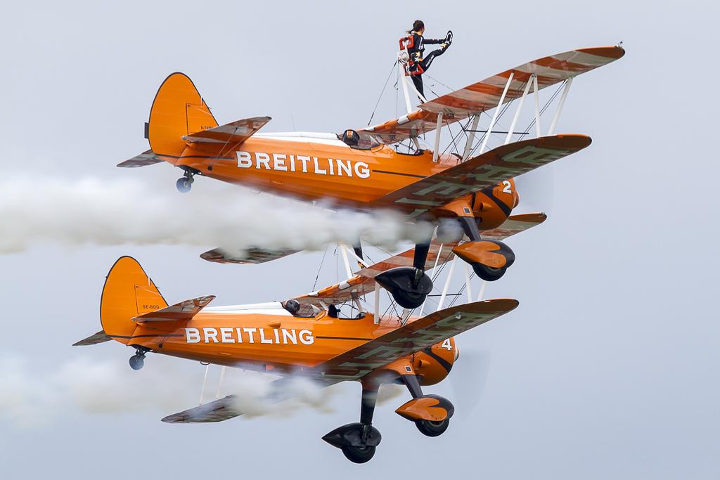 © Adam Duffield - Breitling Wing Walkers • Abingdon