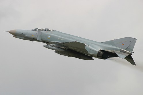 © Michael Freer - McDonnell Douglas F-4F Phantom II • German Air Force • Royal International Air Tattoo 2007