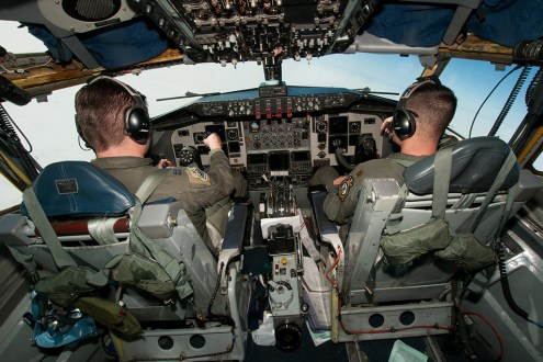 © Michael Buckle - Boeing KC-135R Stratotanker • United States Air Force • 100thARW Aerial Refuelling Sortie