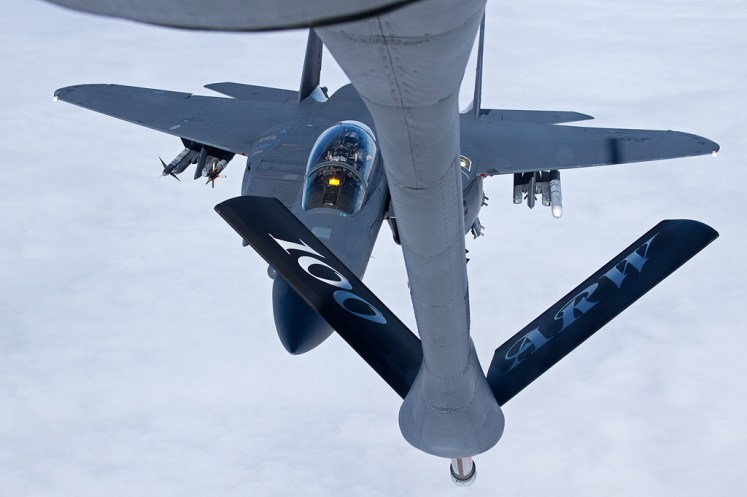 © Ben Montgomery - Boeing F-15E Strike Eagle • United States Air Force • 100thARW Aerial Refuelling Sortie