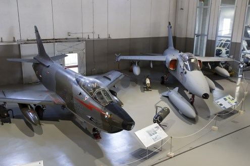 © Adam Duffield • Fiat G-91Y MM6959 & AMX MM7125 • Italian Air Force Museum