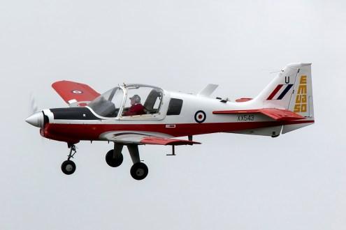 © Adam Duffield • Scottish Aviation Bulldog G-CBAB • Abingdon Air & Country Show 2015