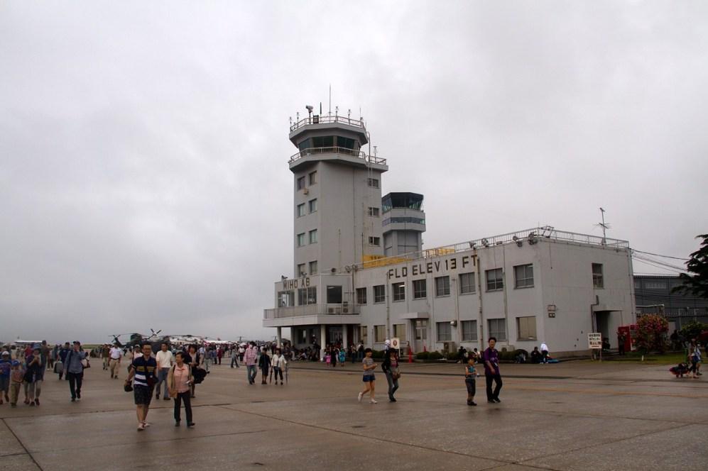 © Michael Lovering • Miho Air Base Tower • JASDF Miho Air Festival 2014