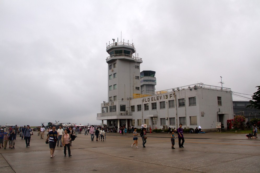 © Michael Lovering • Miho Air Base Tower • JASDF Miho Air Festival 2014