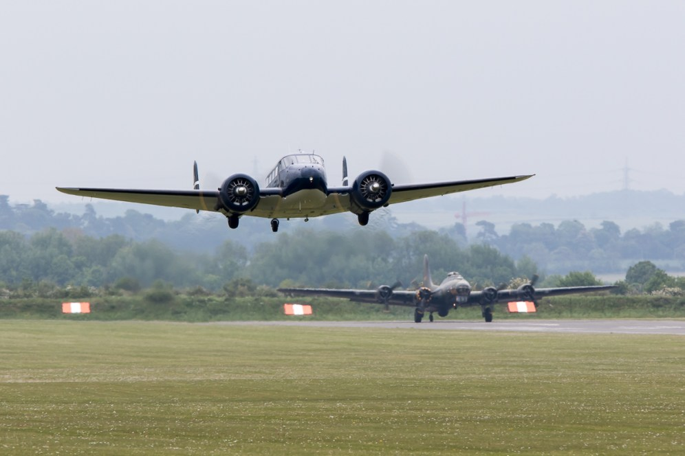 © Adam Duffield • Beech 18S • Duxford VE Day 70th Anniversary Airshow