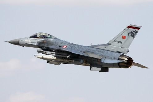 © Mark Kwiatkowski • TuAF F-16C 94-0075 • Anatolian Eagle 2014