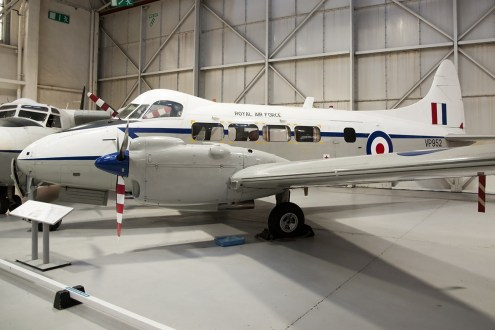 © Duncan Monk • De Havilland DH-104 Devon VP952 • RAFM Cosford