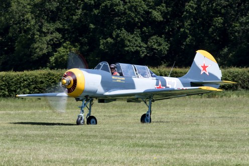 © Adam Duffield • Yak-52 • Shuttleworth LAA Party in the Park
