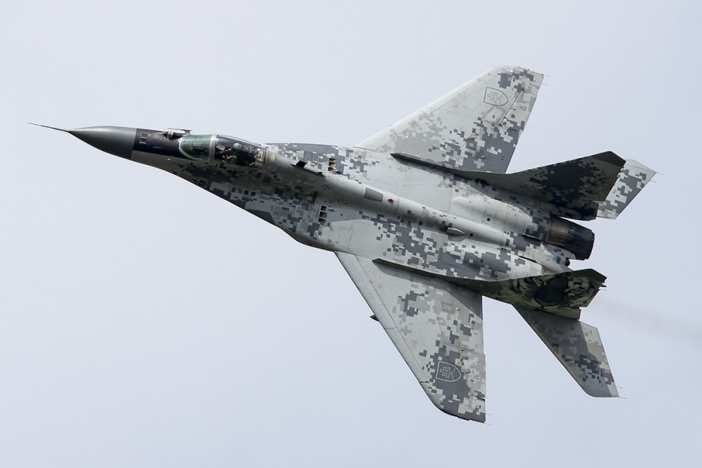 © Adam Duffield • Slovak Air Force MiG-29AS 0921 • Luchtmachtdagen 2014