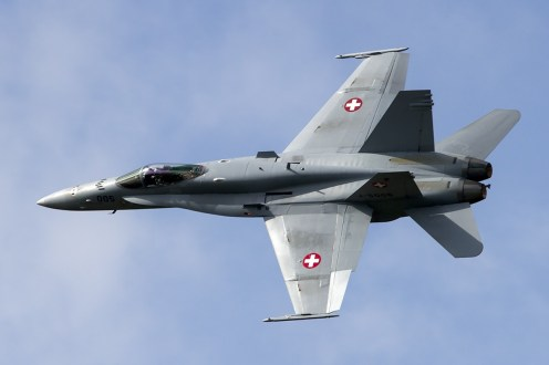 © Adam Duffield • Swiss Air Force F/A-18C J-5005 • Luchtmachtdagen 2014
