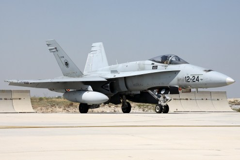 © Mark Kwiatkowski • Spanish Air Force EF-18A 12-24 • Anatolian Eagle 2014`