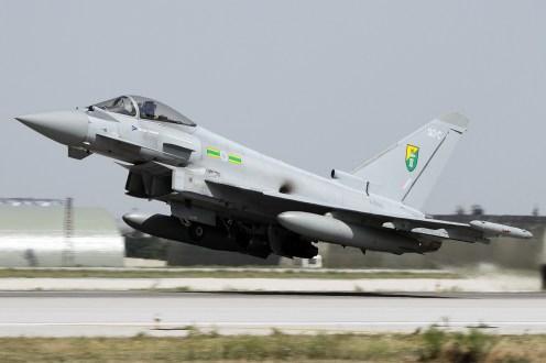 © Mark Kwiatkowski • RAF Typhoon FGR4 ZJ936 • Anatolian Eagle 2014