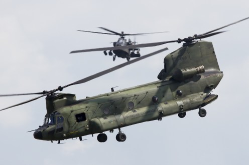 © Adam Duffield • RNLAF CH-47D D-663 • Luchtmachtdagen 2014